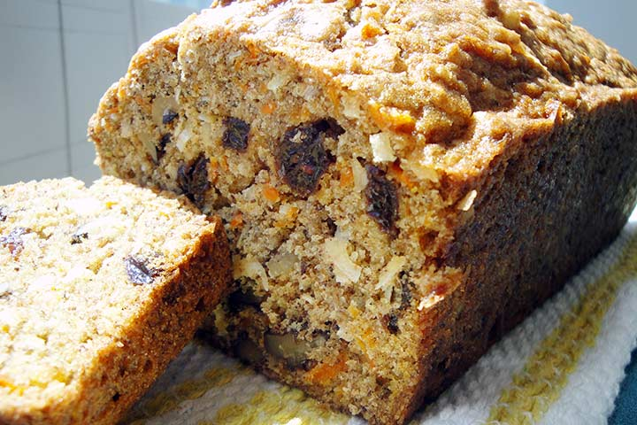 Carrot And Raisin Quick Bread