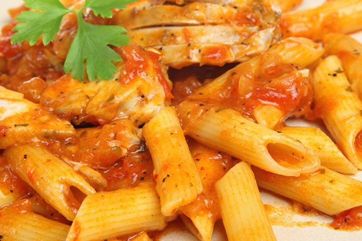 Chicken And Tomato Pasta