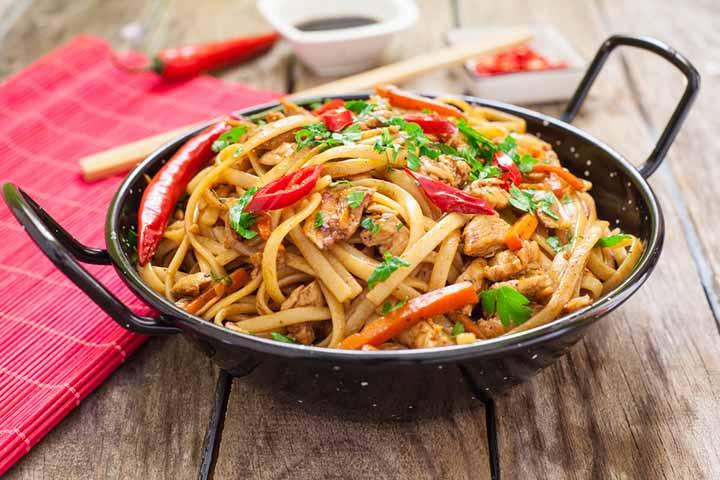 Chicken Chow Mein-1