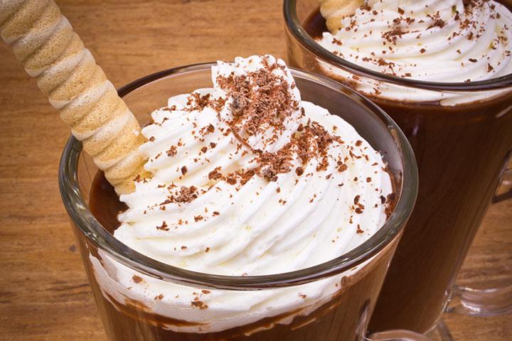 Chocolate Mocktini
