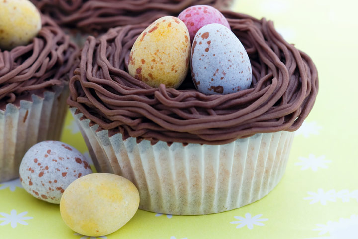 Chocolate Nest Cupcake