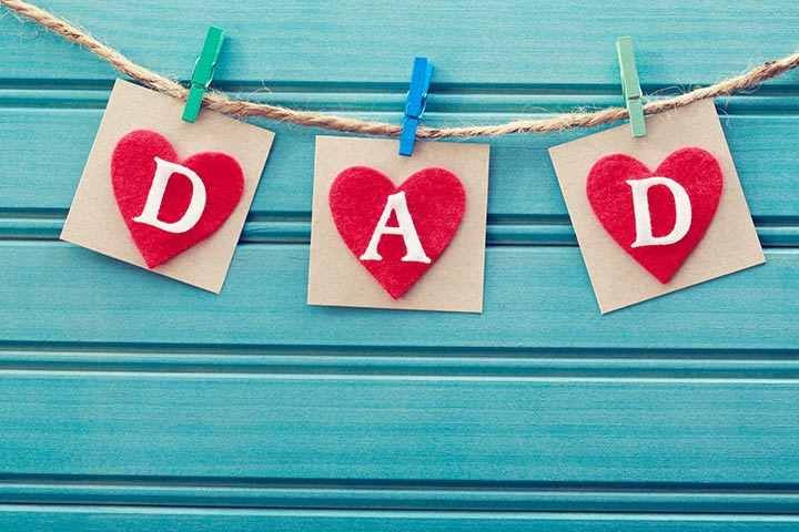 Father Day Craft Ideas For Kids Part - 27: D-A-D On Hearts