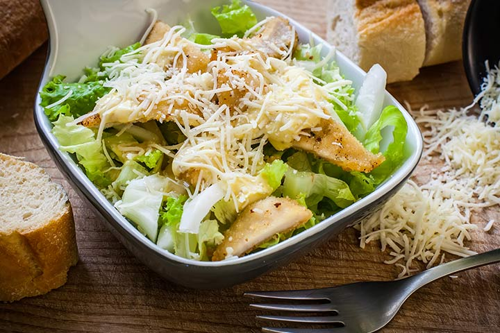 Eggless Caesar Salad Recipe #2
