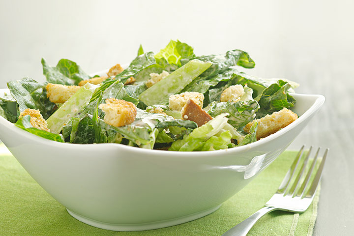 Eggless Caesar Salad Recipe #3