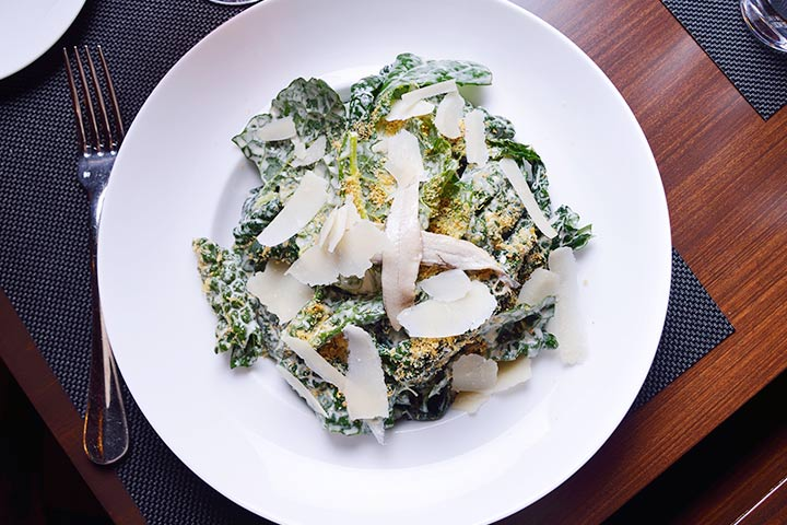 Eggless Kale Caesar Salad Recipe #4