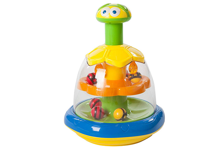 Fat Brain Toys Busy Bees Push 'n Spin