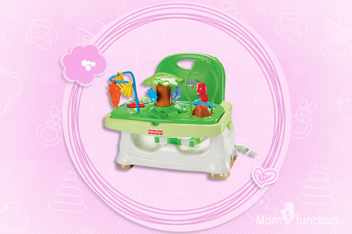 Fisher Price Rain Forest Healthy Care Booster Seat