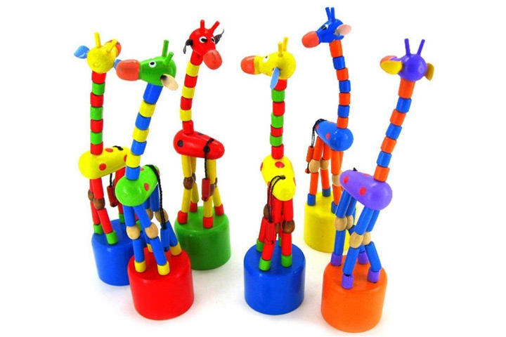 Giraffe Wooden Toy