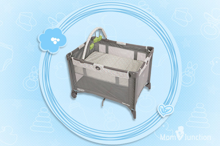 Graco Pack N Play Playard With Bassinet Pasadena