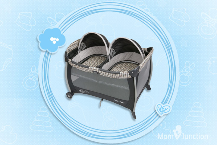 Graco Pack N Play Playard With Twin Bassinets