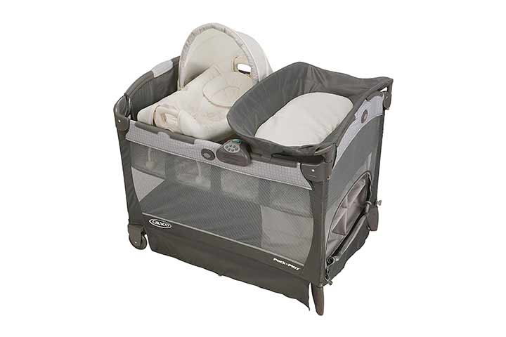 Graco Pack 'n Play Playard with Cuddle Cove Removable Rocking Seat