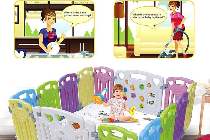 GupamigaBaby Playpen Kids Activity Centre