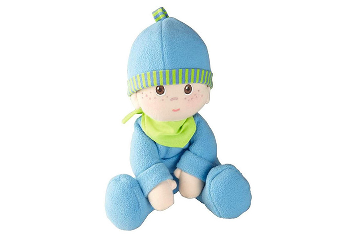 HABA Snug-Up Doll Luis 8 First Boy Baby Doll
