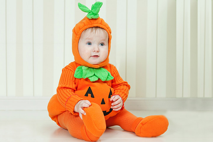 Halloween Costumes For Babies  sc 1 st  MomJunction & 10 Easy Homemade Baby Halloween Costumes