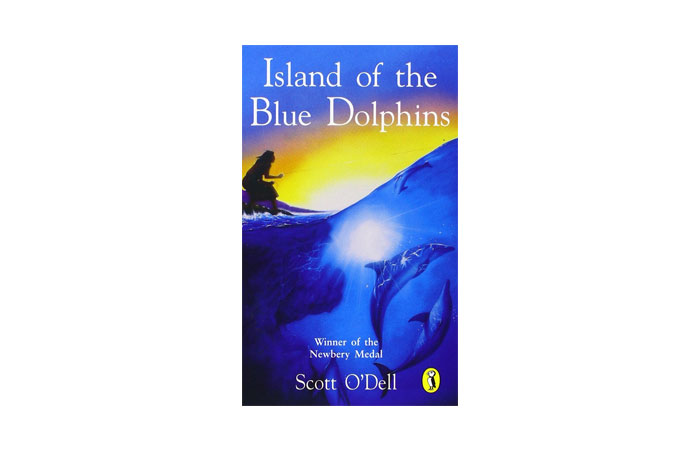 Island of the Blue Dolphins by Scott O'Dell 8
