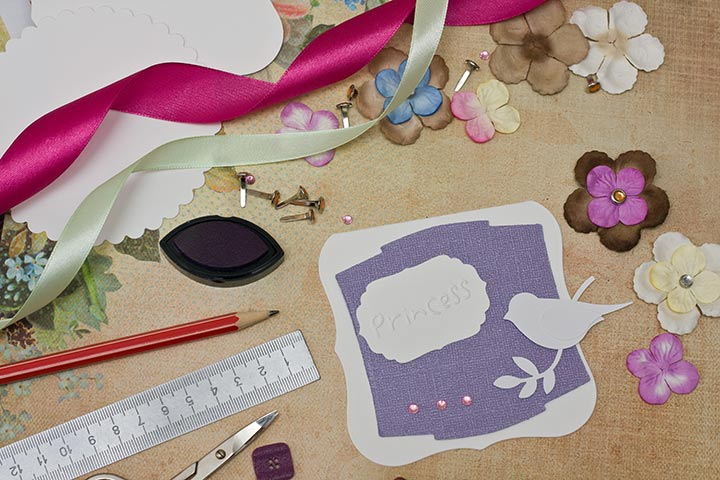 10 simple greeting card making ideas for kids leftover scrapbook card m4hsunfo
