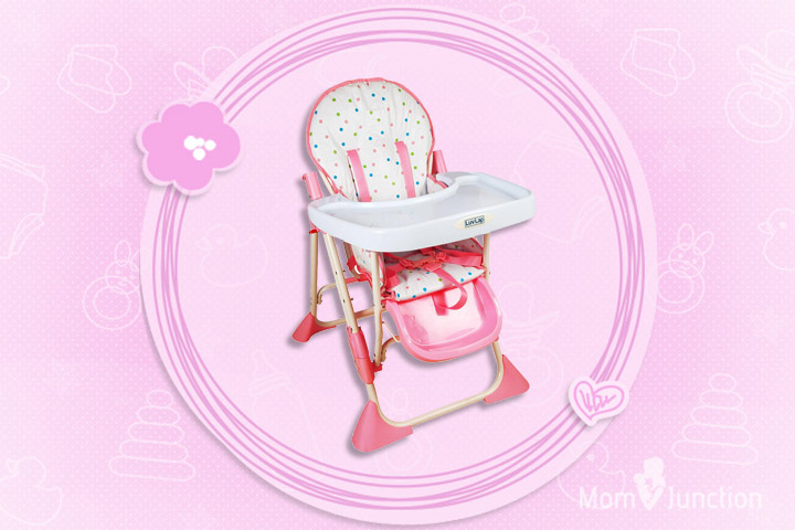Luvlap Baby High Chair 8083 (Comfy)