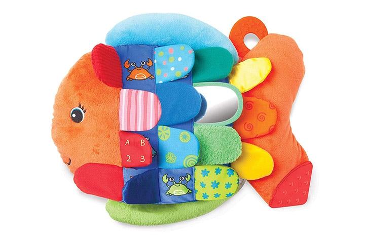 Melissa Doug Flip Fish Baby Toy