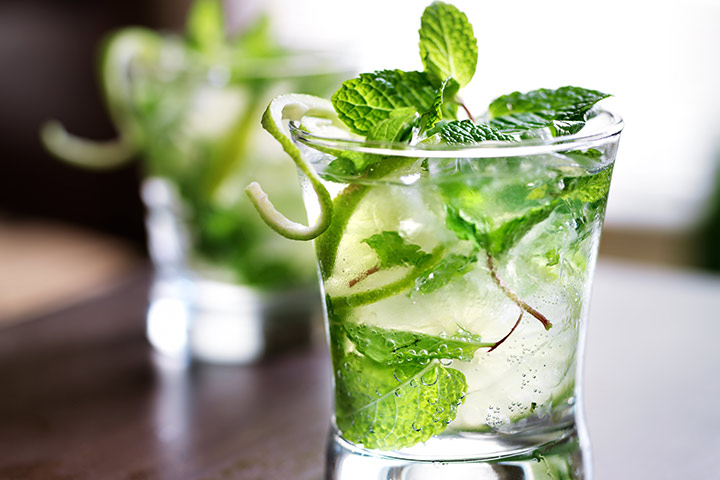 Mojitos Without Alcohol