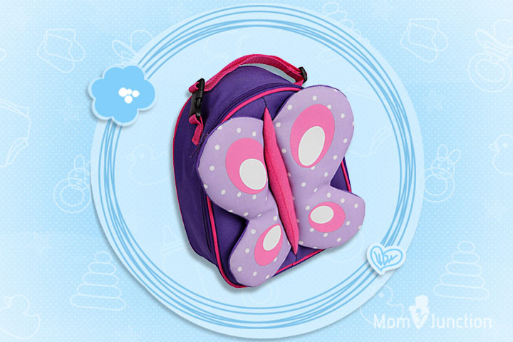 My Milestones Kid's Lunch And Picnic Backpack – Butterfly