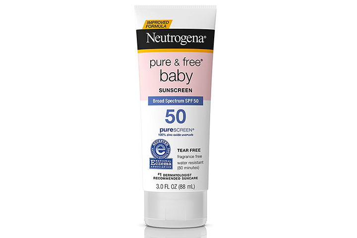 Neutrogena Pure & Free Baby Mineral Sunscreen