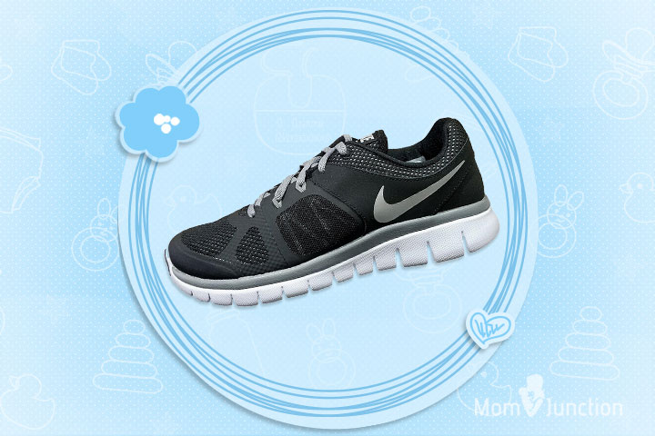 Nike Boys Grey Flex 2014 Running Shoes