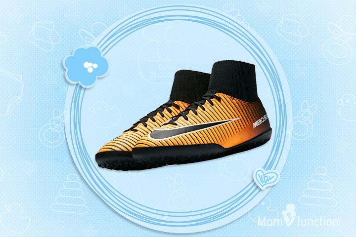 Nike Jr. MercurialX Artificial-Turf Soccer Shoe