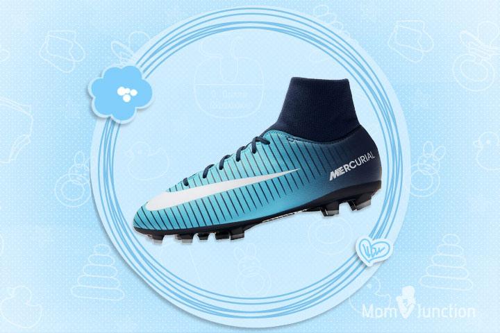 Nike Kids' Jr. Victory VI Dynamic Fit FG Soccer Cleat