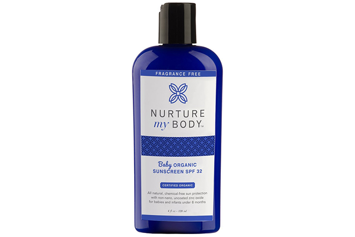 Nurture My Body Baby Organic Sunscreen