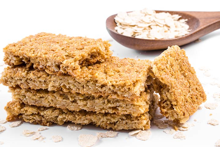 Oatmeal breakfast bar