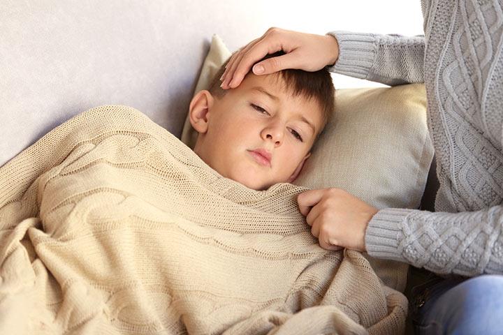 Kết quả hình ảnh cho Children with flu