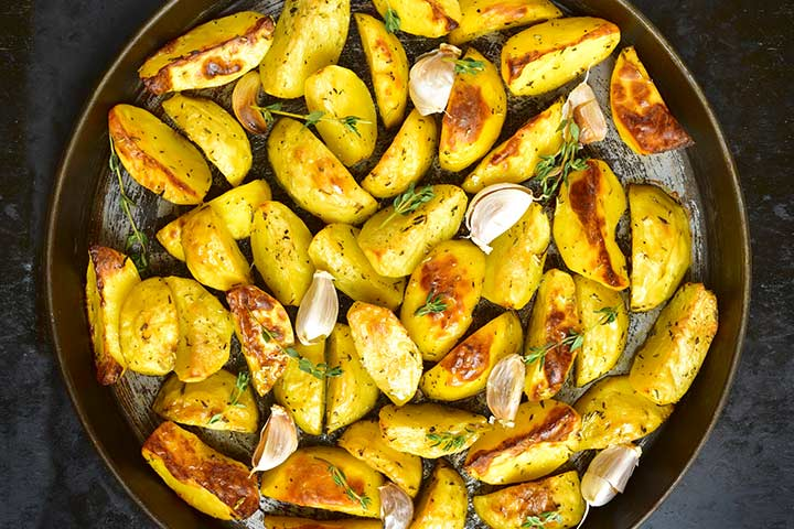 Oven Roasted Potato Recipe