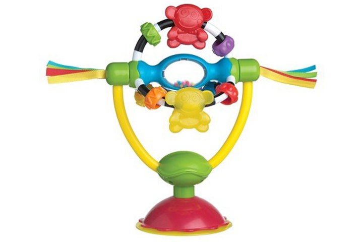 Playgro Spinning High Chair Toy - Multicolor
