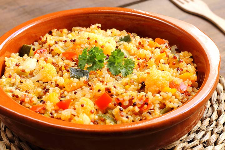 Quinoa With Stir-Fried