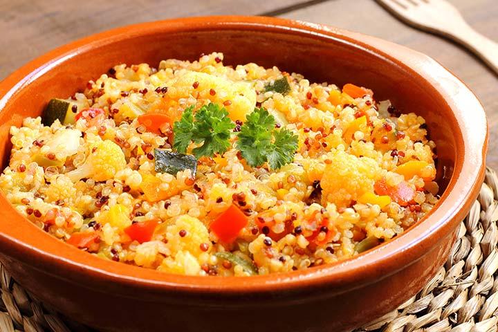 Quinoa With Stir-Fried