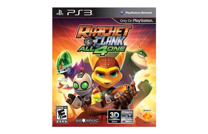 Ratchet & Clank All 4 One 4