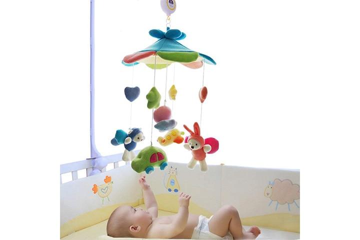 SHILOH Baby Crib Plush Musical Mobile