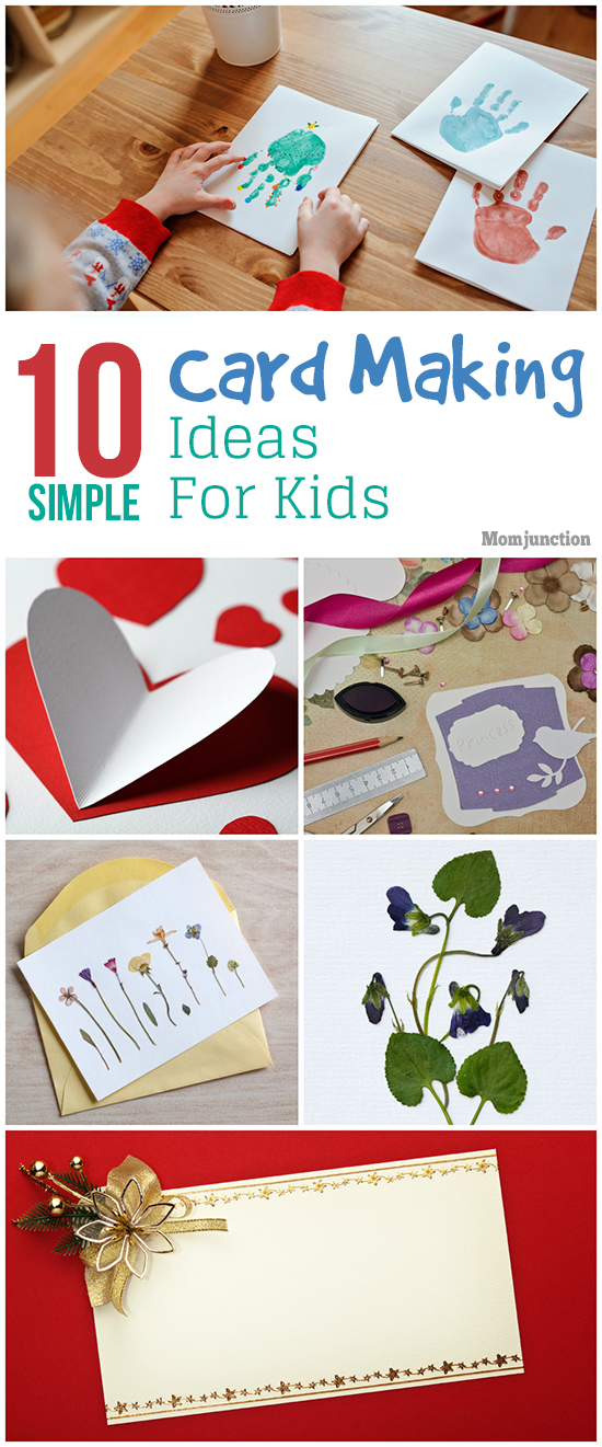 10 easy and creative greeting card making ideas for kids