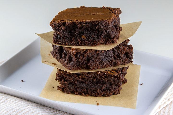 Simple Nutella brownies