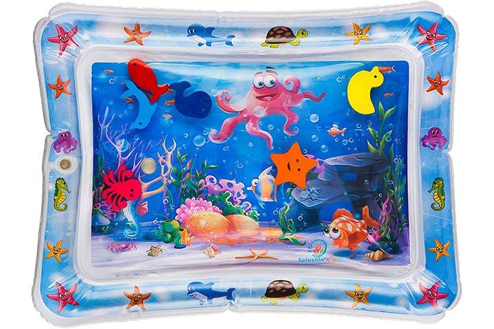 Splashinkids Inflatable Tummy Time Premium Water Mat