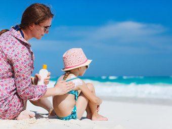 Sunburn In Kids - Causes, Symptoms & Treatments