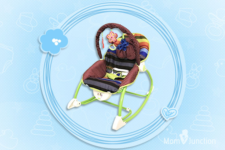 Sunshine Baby Rocker Bouncer Chair Infant To Toddler With Vibration And Music
