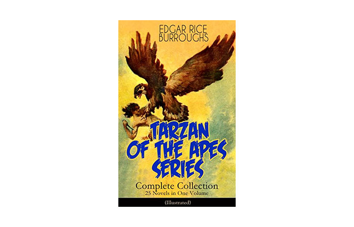 Tarzan Of The Apes Series by Edgar Rice Burroughs 4