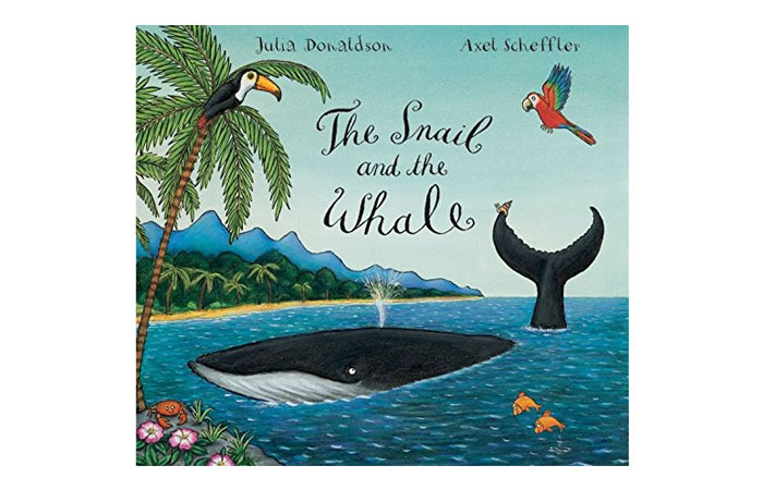 The Snail And The Whale by Julia Donaldson 13