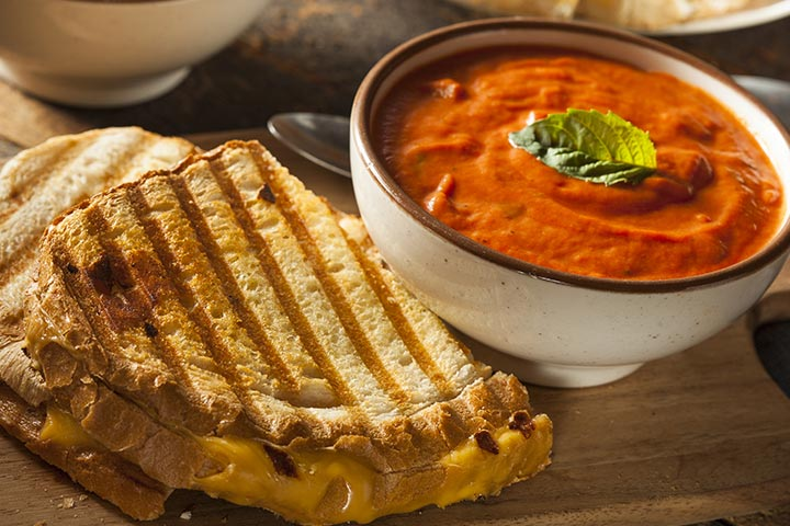Tomato And Cheddar Soup