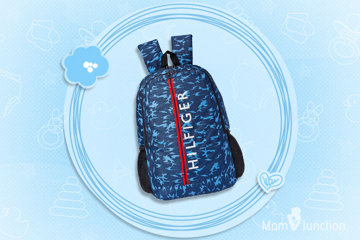 Tommy Hilfiger Maryland Navy Blue Children's Backpack (THBTS08MRD)