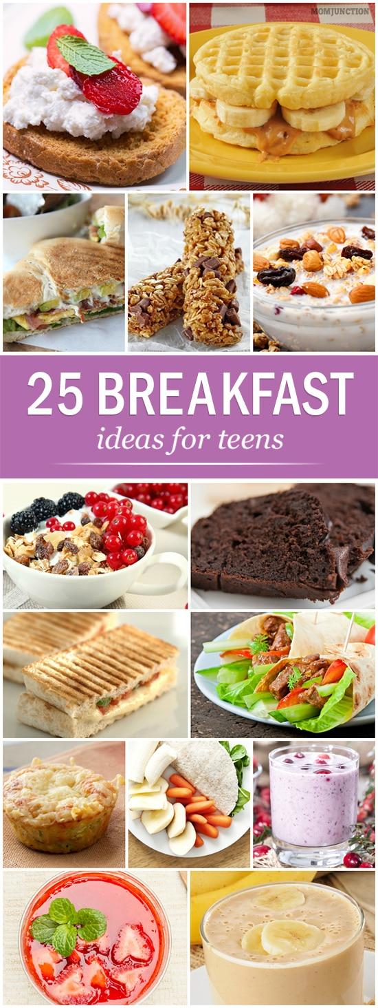 Home Early Teen Food