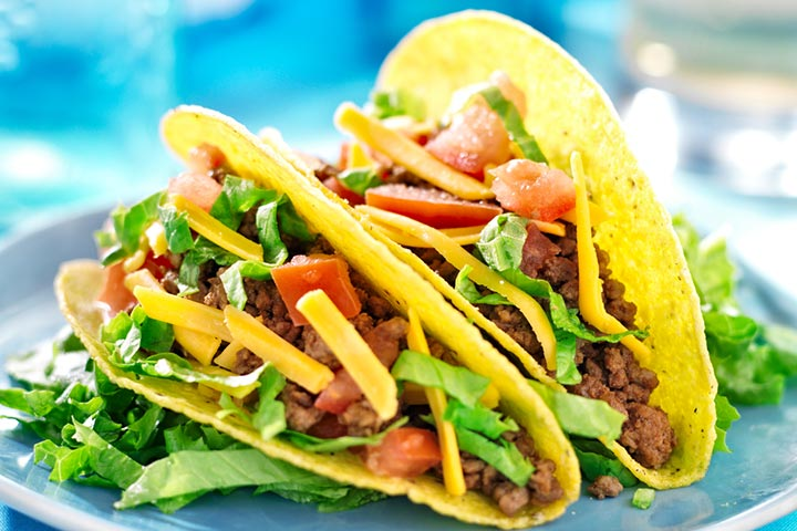 Veggie loaded tacos