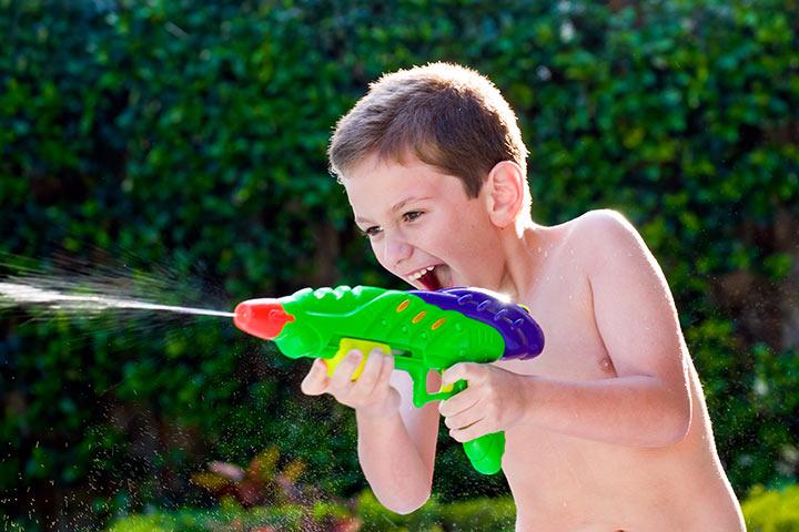 Water Gun Tagging