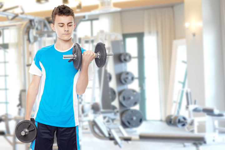 Teen Boys: Building Muscle Tips, Calories, Exercise, and